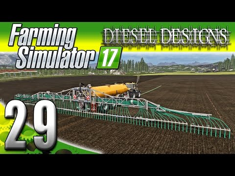 Farming Simulator 2017 Gameplay :EP29: GPS Mod & Cash for Canola! (PC HD Goldcrest Valley)