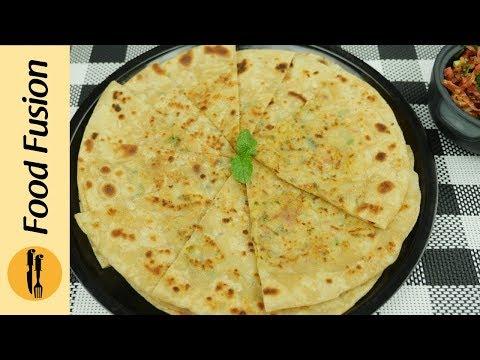 Aloo ka paratha with Instant Gajar ka achar Recipe By Food Fusion