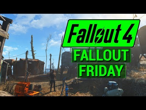 FALLOUT 4: City Expansion with Sim Settlements Mod! (Fallout 4 Friday)