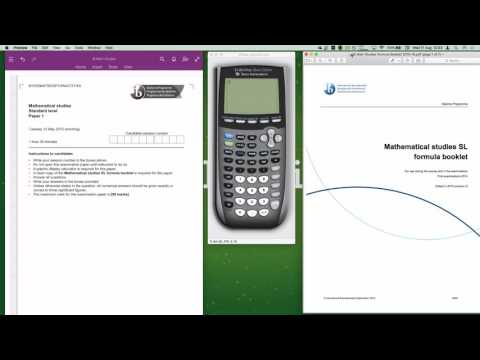 IB Maths Studies May 2015 Time Zone 1 Paper 1 Introduction