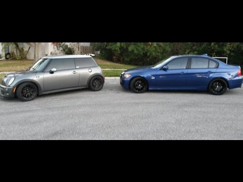 2006 Mini Cooper S and 2007 BMW 328i