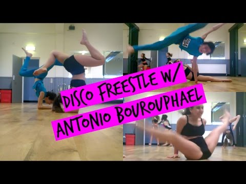 Disco Freestyle Dance w/ Antonio Bourouphael | The Perks of Being Sveva
