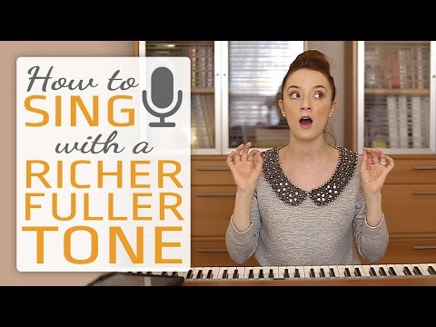 How to sing with a richer fuller tone - Singing Exercises