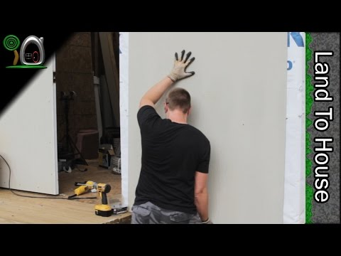 Exterior Hardie Board Siding - Build a Workshop #33