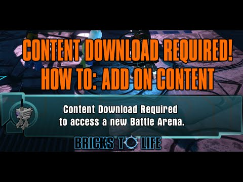HOW TO: Content Download Required For Additional Content - Lego Dimensions Year 2