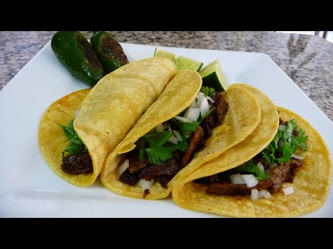 Steak and Chorizo Tacos Recipe, easy delicious mexican recipe
