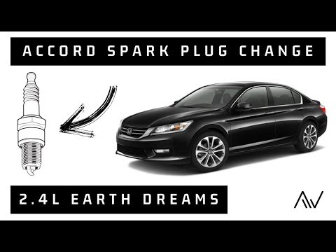 How to Change Spark Plugs in a Honda Accord with 2.4 L Earth Dreams   2013 - 2017