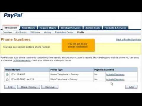 How to edit your address and phone number in PayPal
