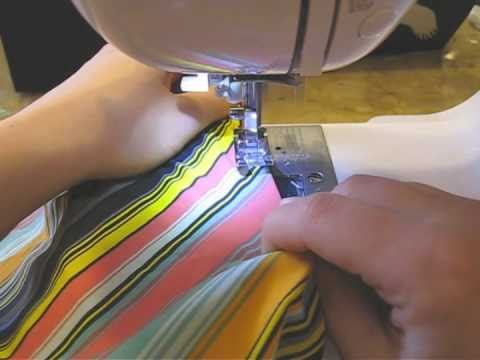 Hemming Swimsuit Elastic: Sewing Tips and Tricks