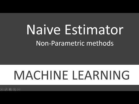 Naive Estimator - Non-Parametric Density Estimation in Machine learning