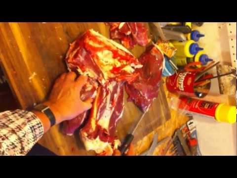 How to cut up a deer 5- sirloin tip