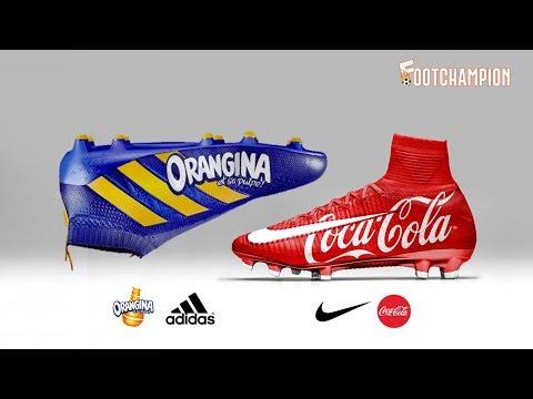 Insane Sponsor Concept Boots Football Reaveled ⚽ Nike, Adidas & Puma ⚽ Footchampion