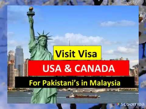 USA & CANADA VISA - Apply from Malaysia
