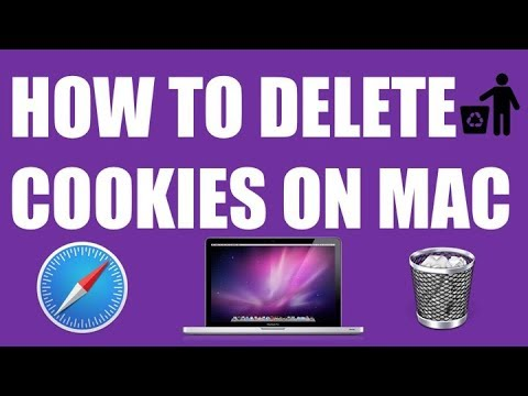 HOW TO DELETE/REMOVE/CLEAR COOKIES ON MAC ?