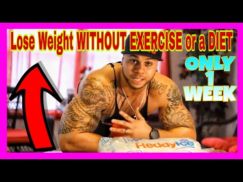 How to Lose Weight WITHOUT Exercise and Diet In JUST ONE WEEK