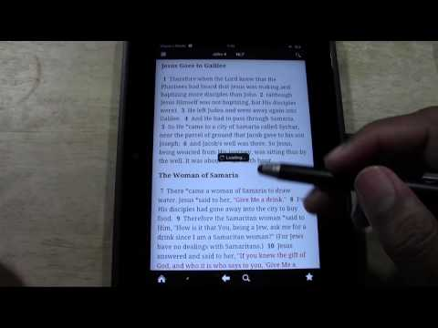 Kindle Fire HD: The Best Bible App | H2TechVideos