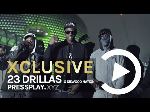 23 Drillas X Silwood Nation - Pull Up (Music Video) Prod By La Beats | Pressplay