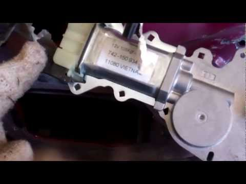 How to change a bad power window motor in a Pontiac Sunfire.