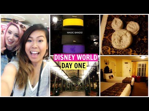 DISNEY WORLD | DAY 1 | Arriving, Port Orleans Resort, Disney Cribs Room Tour | TRAVEL VLOG 2016