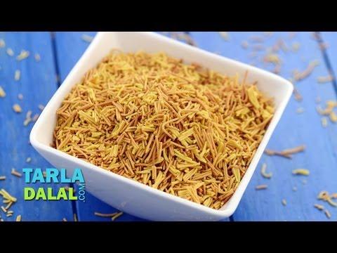 Baked Sev (Low Calorie) by Tarla Dalal