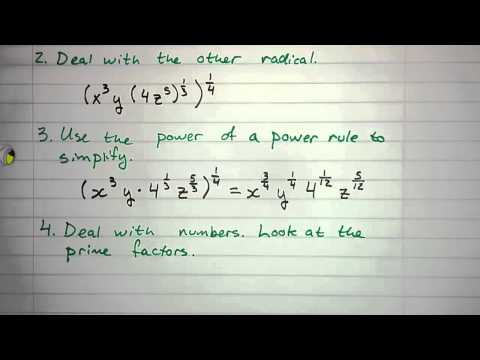 5.2.3 - Translating Radicals to Rational Exponents