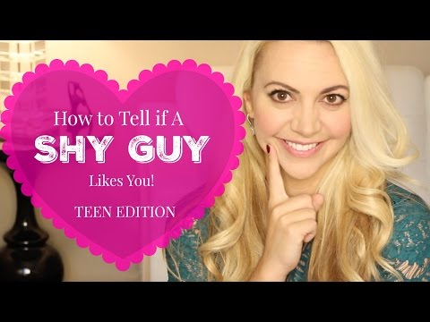 5 Signs a SHY GUY Likes You: TEEN EDITION