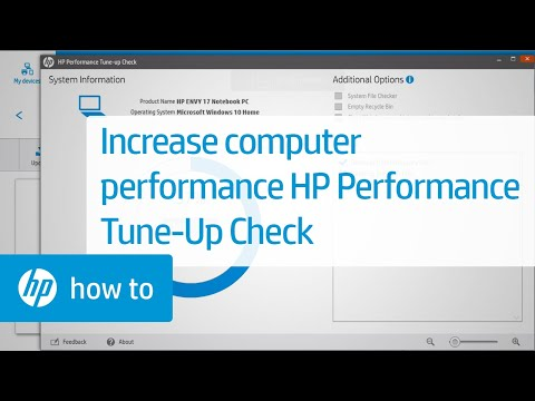 How to Increase System Performance Using HP Performance Tune-up Check   HP Computers   HP