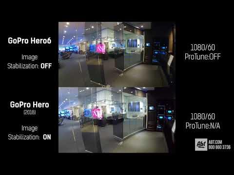 2018 GoPro Hero Image Stabilization Demo