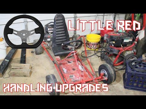 Go Kart Handling Upgrades (Little Red)
