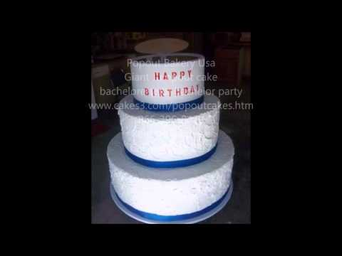 Popout Giant Jump out Cake Delivery in One day Usa 866-396-8429