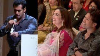 Salman Khan Bowls Over Sachin Tendulkar!