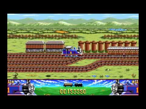 First Thomas The Tank Engine Video Game : First Nintendo - Sega Mega Drive