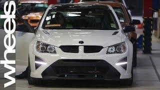 We follow a HSV GTSR W1 down the production line | Wheels Australia