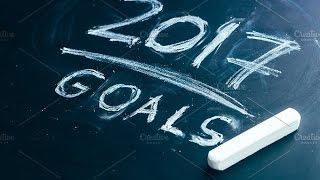 My 2017 Goals!