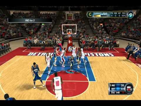 NBA 2k12: My Player - Game 1