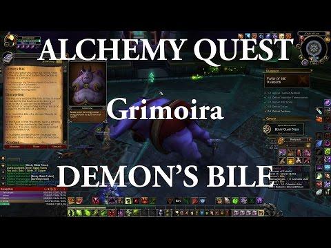 Alchemy Quest: Demon's Bile - How To Kill Grimoira