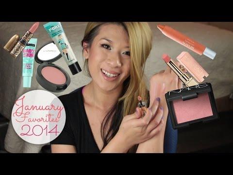 January 2014 Beauty Favorites