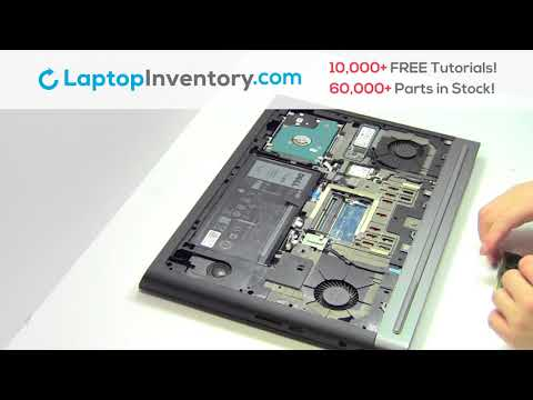 Dell Inspiron 7567 RAM Memory Replacement | Laptop Notebook Install Guide, 7566 7778 P65F