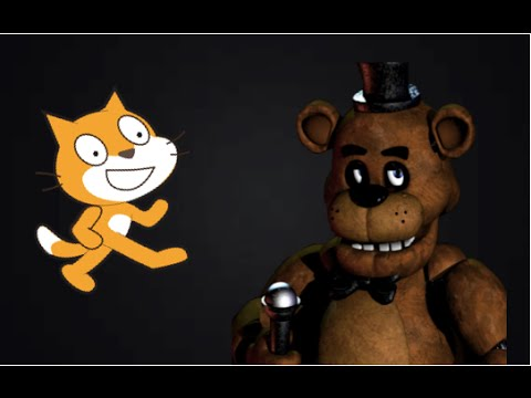 How To make a FNAF Game in Scratch Part 1  Menu, mask, and cameras! 