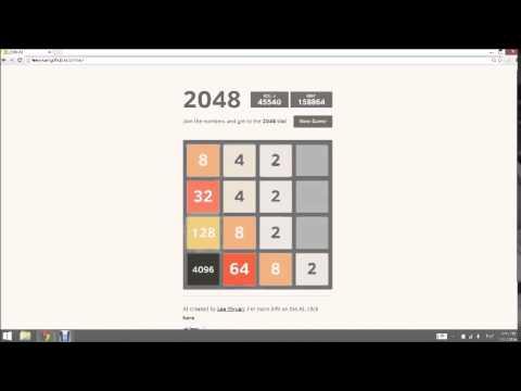 2048 AI Run - The 8192 TIle