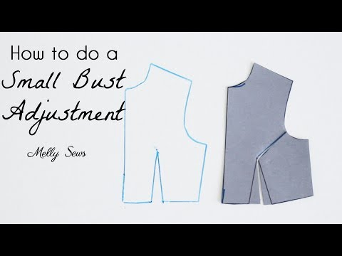 How to do a Small Bust Adjustment