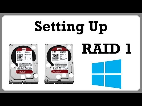 How to Set Up RAID 1 Between 2+ SATA Drives in Windows Disk Management