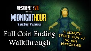 RESIDENT EVIL 7 DEMO WALKTHROUGH | 9 Minute Giggles Speed Run Coin Ending With NO VHS WATCHING