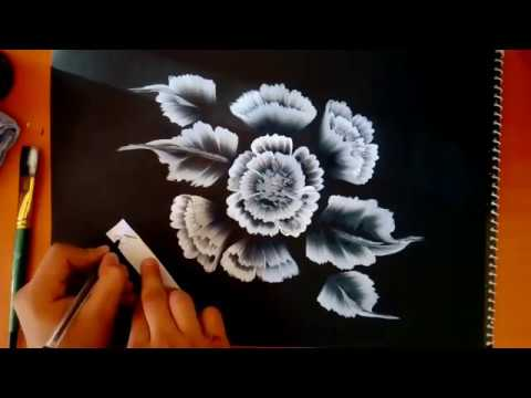 How to do Very easy cover page design | beautiful one stroke painting by Shivansh Rai