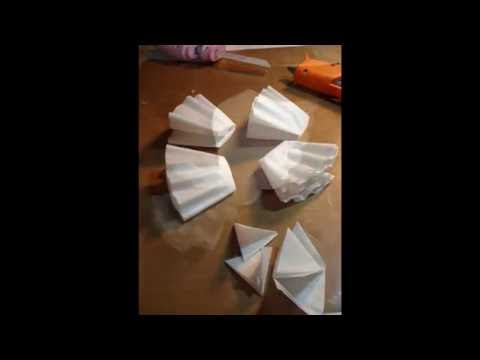 My tutorial on the angel wings I made.using coffee filters