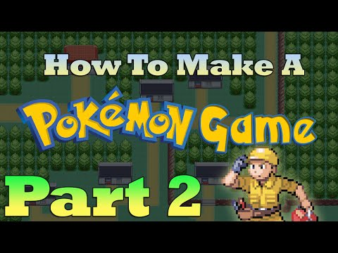 How To Make a Pokemon Game in RPG Maker - Part 2: Maps and Houses