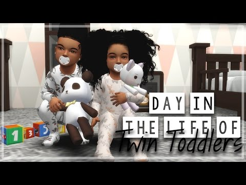 The Sims 4   Day in the Life of Twin Toddlers   Zhuri & Zahari