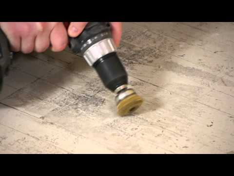 How to Remove Floor Tile Glue : Flooring Repairs