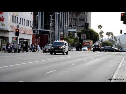 Chevrolet Tahoe - LAPD Code 3 [Amazing siren work]
