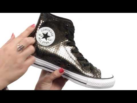Converse Chuck Taylor All Star Hi Rise Boots Leather Fur